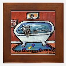 BOUVIER bath Framed Tile