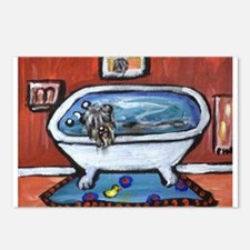 BOUVIER bath Postcards (Package of 8)