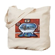 BOUVIER bath Tote Bag