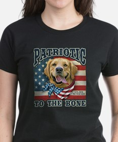 Patriotic - Golden Retriever Tee