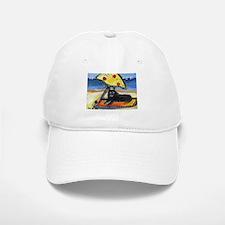 SCHIPPERKE at the beach Baseball Baseball Cap