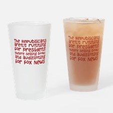 Republican Audition Drinking Glass