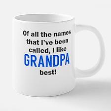 I Like Grandpa The Best Mugs