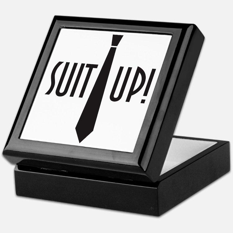Suit Up! Keepsake Box