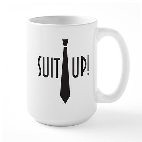 Suit Up! Large Mug
