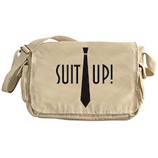 Suit Up! Messenger Bag