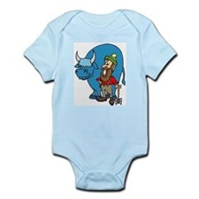 babe the blue ox Infant Creeper