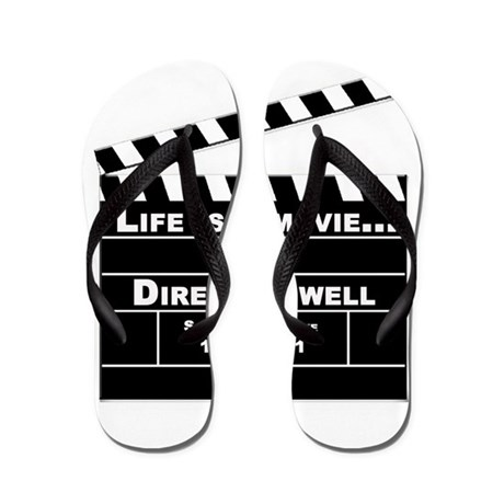 Life is a Movie Flip Flops