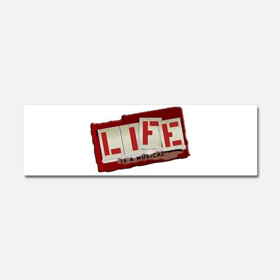 Musical Life Car Magnet 10 x 3