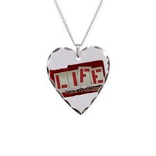 Musical Life Necklace Heart Charm
