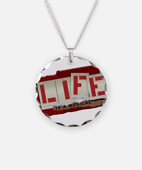 Musical Life Necklace Circle Charm