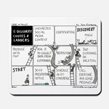 eDiscovery Chutes and Ladders Mousepad