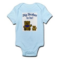 Big brother to be infant onesie