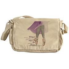 Pointe Messenger Bag