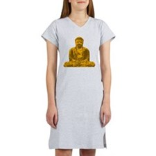 Buddha Graphic Women's Nightshirt