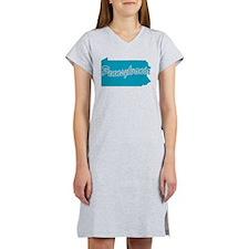 State Pennsylvania Women's Nightshirt