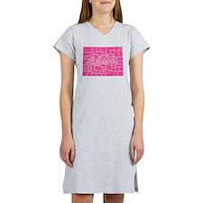 Pink Colorado Women's Nightshirt