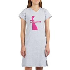 Pink Delaware Women's Nightshirt