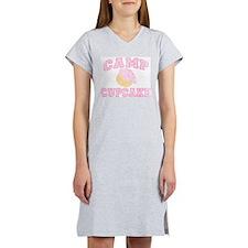 Camp Cupcake Retro Staff Women's Nightshirt