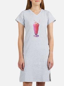 Strawberry Milkshake Women's Nightshirt