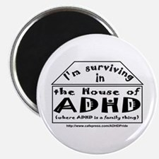 House of ADHD magnet