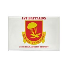 DUI - 1st Bn - 377th FA Regt with Text Rectangle M