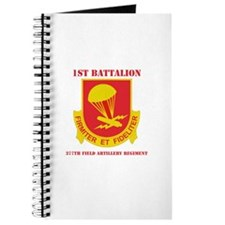 DUI - 1st Bn - 377th FA Regt with Text Journal
