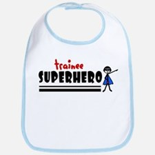 'Trainee Superhero' Bib