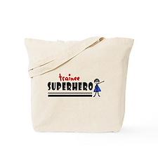 'Trainee Superhero' Tote Bag