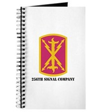 DUI - 256th Signal Company with Text Journal