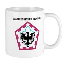 SSI - 555th Engineer Brigade with Text Mug
