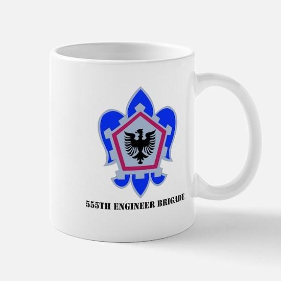 DUI - 555th Engineer Brigade with Text Mug