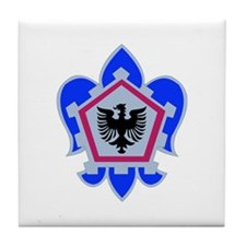 DUI - 555th Engineer Brigade Tile Coaster