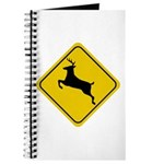 Deer Crossing Sign Journal