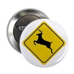 Deer Crossing Sign Button