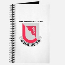 DUI - 14th Engineer Bn with Text Journal