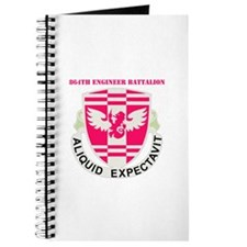 DUI - 864th Engineer Bn with Text Journal