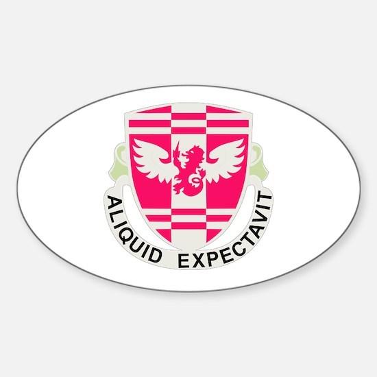 DUI - 864th Engineer Bn Sticker (Oval)