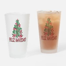 Feliz Navidad Pint Glass