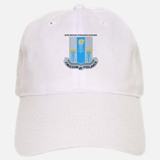 DUI - 502nd Military Intelligence Bn with Text Baseball Baseball Cap