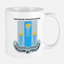 DUI - 502nd Military Intelligence Bn with Text Mug
