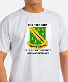DUI - 3rd Sqdrn(LRS)(Abn) - 38th Cavalry Regt with