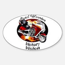 Victory Vision Sticker (Oval 10 pk)