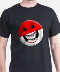 Indonesian Smiley Face T-Shirt