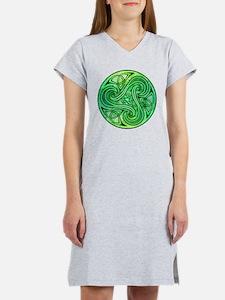 Celtic Triskele Women's Nightshirt