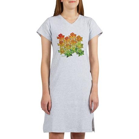 Celtic Leaf Tesselation Women's Nightshirt