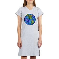 Earth Day Planet Women's Nightshirt