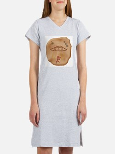 Cute Petroglyph Women's Nightshirt