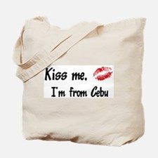 Kiss Me: Cebu Tote Bag