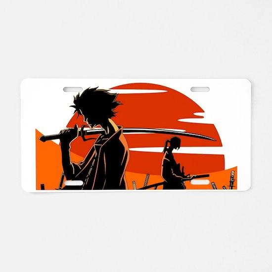 Unique Anime Aluminum License Plate